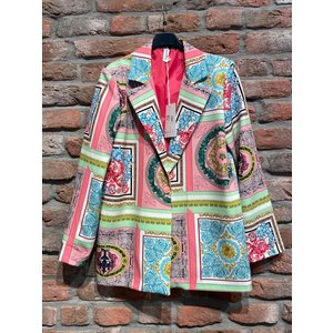 Blazer versace print