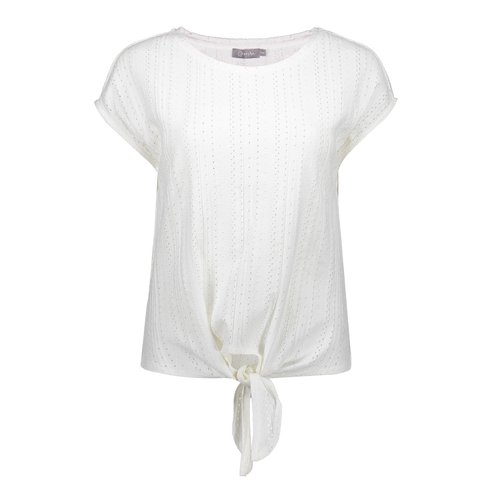 Geisha Geisha top ajour knott 12088-25 off-white