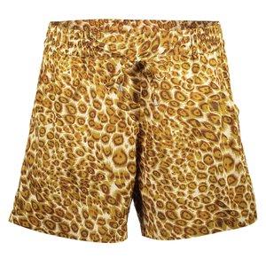 Geisha Geisha shorts leopard 11072-21 tabacco ecru