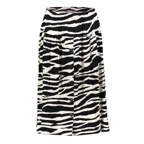 Geisha Geisha skirt 16073-20 black/ sand combi