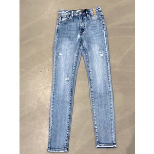 Queen Hearts Queen Hearts skinny jeans high rise medium blue