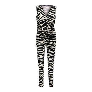 Geisha Geisha jumpsuit 11103-20 black/ sand combi