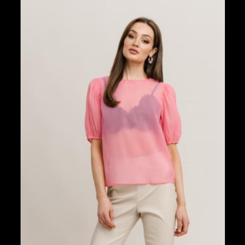 Rut&Circle Rut&Circle Tiffany Blouse 21-01-75 bubbelgum pink