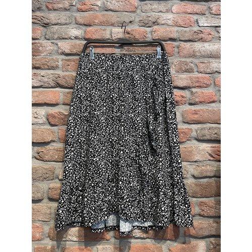 Geisha Geisha skirt Rose 16051-60 black/white