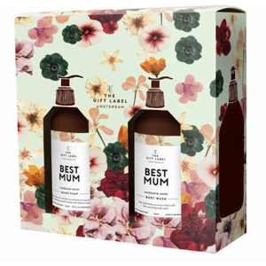 The Gift Label Gift box Limited - Handsoap + Body Wash - Best Mum