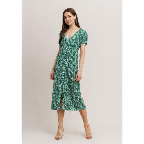 Rut&Circle Rut&Circle Liv Dress 21-01-36 green garden