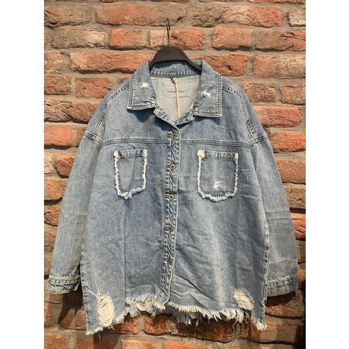 Melly & Co Oversized jeansjacket