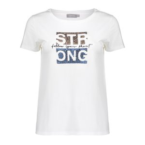 Geisha Geisha T-Shirt Strong 12404-46 off white
