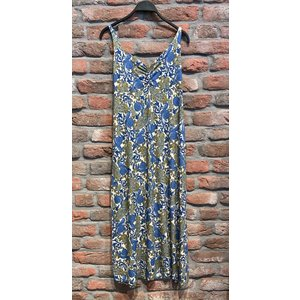 Geisha Geisha 17392-60 Dress long spagetti Blue paisley