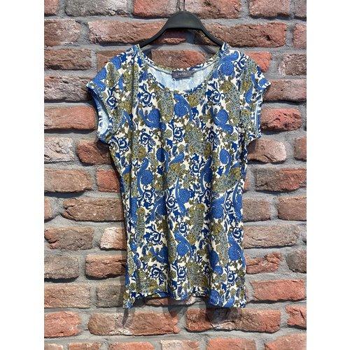Geisha Geisha T-Shirt AOP Kate 12423-60 Paisley