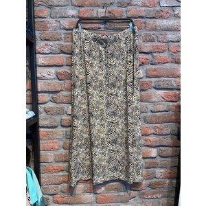 Geisha Geisha Skirt long 16381-60 Isa off-white/brown animal