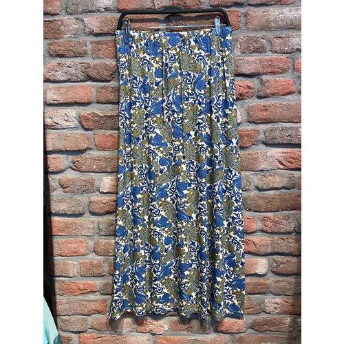 Geisha Geisha Skirt long 16381-60 Isa paisley