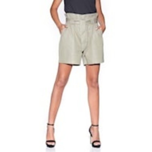 Bianco Bianco paper bag short siouxsie 120600 olive