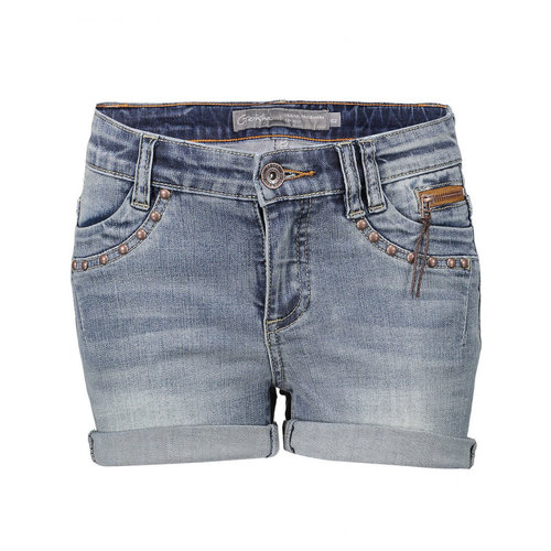 Geisha Geisha Shorts riverts & zipper at pocket 11002