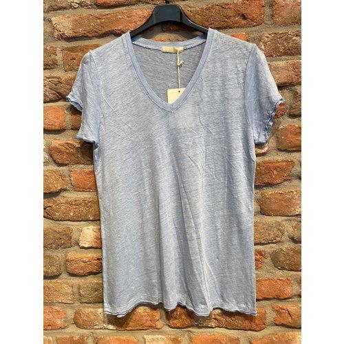 G.Ricceri G. Ricceri T-Shirt gerafeld (2 kleuren)