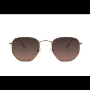 Ikki zonnebril 71-2 Gold / gradient pink