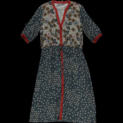 Geisha Geisha Dress 17438-20 coral/sand