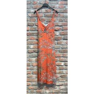 Geisha Geisha Dress long Noëlle 17392-60 coral/sand