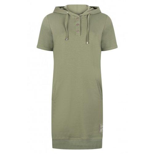 Zoso Zoso Sporty hooded Dress Eve 213 (2 kleuren)