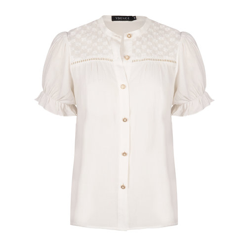 Ydence Ydence Blouse Claudia white