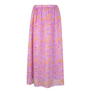 Ydence Ydence Skirt Heather purple flower