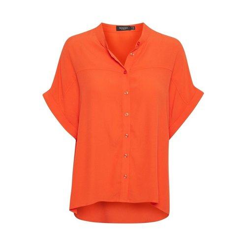 Soaked Soaked Shirt SS Helia carnelian