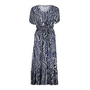Geisha Geisha Dress irr stripe 17355-40 navy/kit