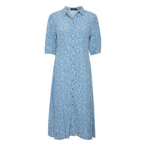 Soaked Soaked Dress SS Elin lichen blue splas
