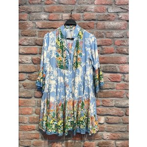 Amsterdam Dress Bohemian Happy Flower  (3 kleuren)