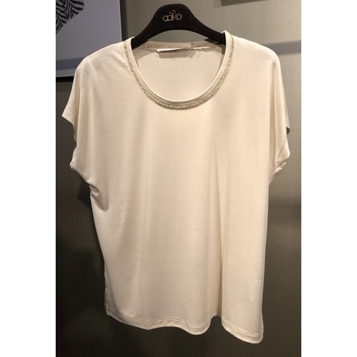Aaiko Aaiko t-shirt Madelin mod 152 cream