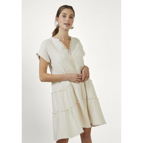 Aaiko Aaiko dress Manur co 533 cream