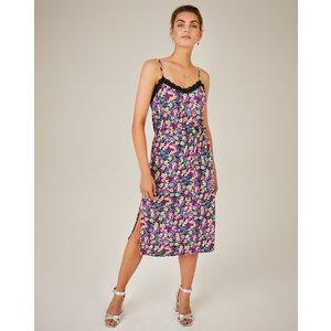 Freebird Freebird Midi Dress Arlo sleeveless Violet flower