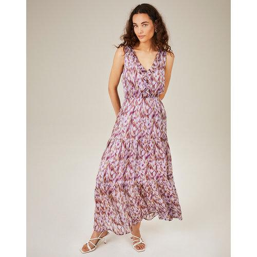 Freebird Freebird Maxi Dress Cera sleeveless purple