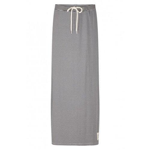 Zoso Zoso 213 Fallon Striped Long Skirt navy