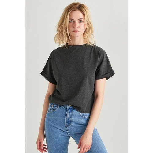 24colours 24Colours T-Shirt 11510b anthracite