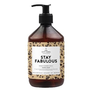 The Gift Label Hand soap 500 ml - Stay Fabulous - 1011312