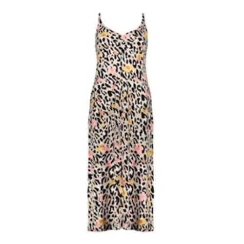 Geisha Geisha Dress long Noëlle 17392-60 sand-pink leopard