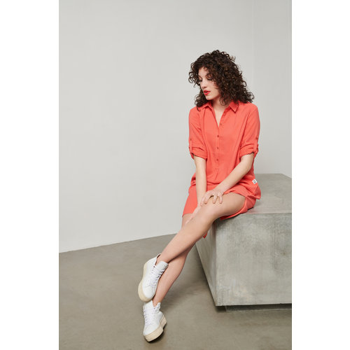 &Co &Co Dress Annely 14SS-DR147-FS flamingo