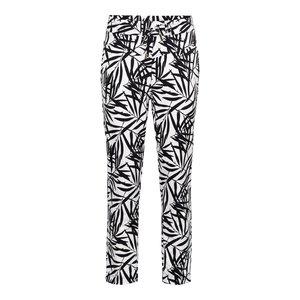 &Co &Co Penny Pants 7/8 Leaf Print off white