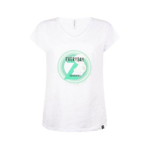 Zoso Zoso Shirt 214 Ray print white green