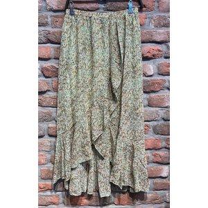 New York Bella Skirt Long Ruches mint