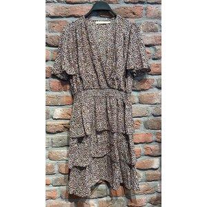New York Jill Mini Dress purple/brown