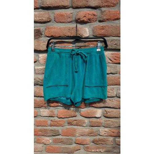 New York Short Kiki badstof turquoise one size