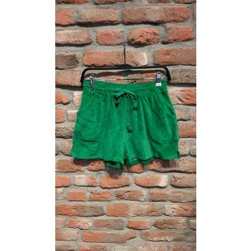 New York Short Kiki badstof apple green one size