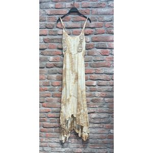 New York Long Dress Flo zand one size
