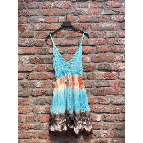 New York Mini Dress Fien one size (verschillende kleuren)
