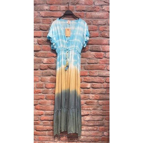 New York Long Dress Iris blue one size