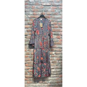 New York Long Dress Nikita flower multicolour