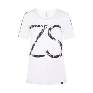 Zoso Zoso T-Shirt 214 Jenny with print white/black