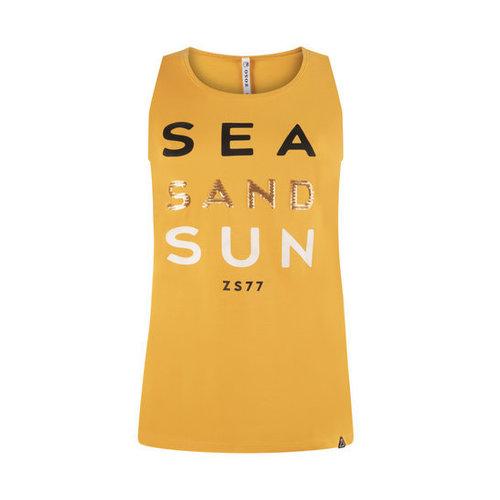 Zoso ZOSO 214 Sun Sporty top met print summergold